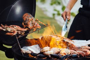 Private BBQ Grilled Seafood T2B5479